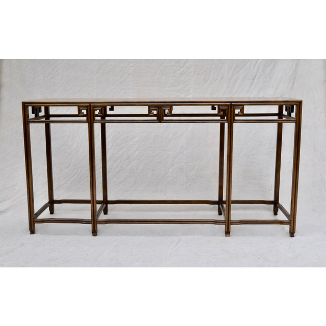 """Baker Burlwood Console Table, """"Far East"""" Collection"""" For Sale - Image 13 of 13"""