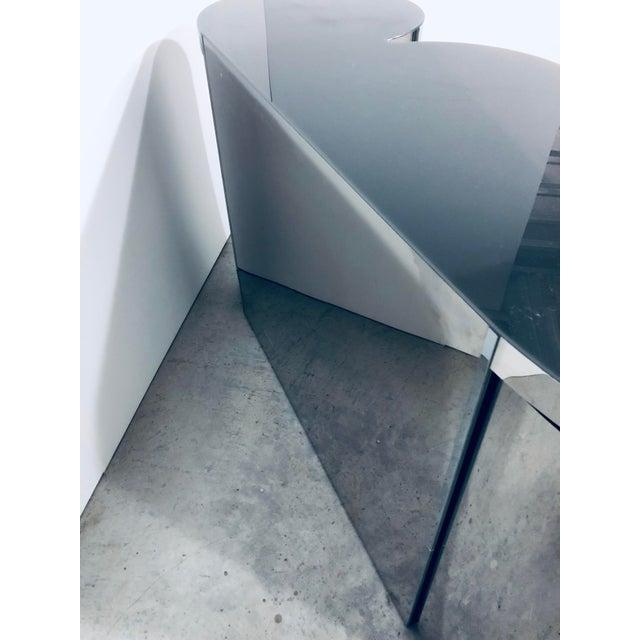 Paul Evans Mirror Polished Steel Cylinder Sideboard For Sale - Image 13 of 13