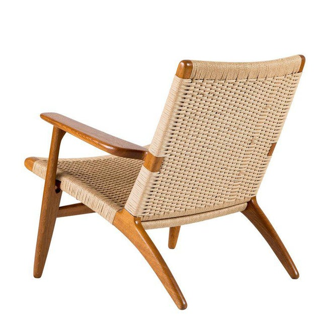 1950s Hans Wegner Ch-25 Lounge Chair For Sale - Image 5 of 10