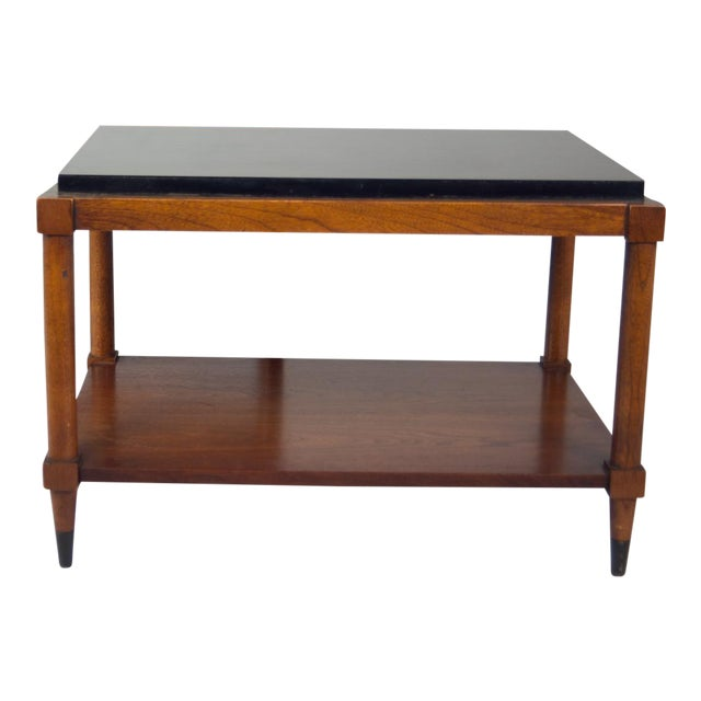 1950's Lane Tiered Side Table For Sale