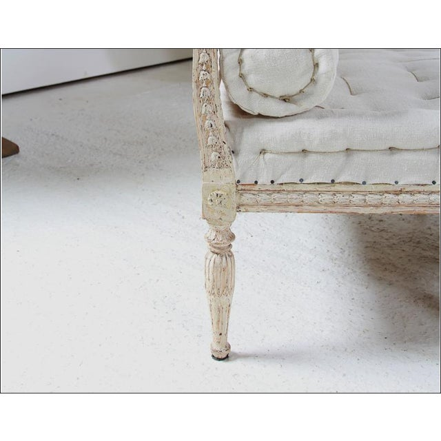 18th C Gustavian Banquette For Sale - Image 4 of 6
