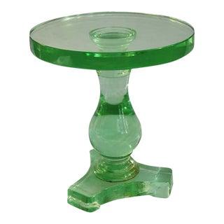 Italian Murano Glass Baluster Table For Sale