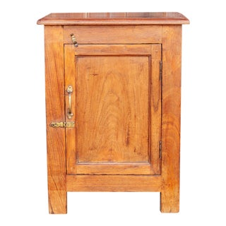 Small British Colonial Nightstand For Sale