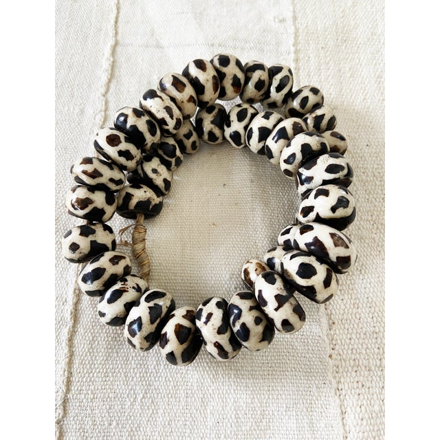 African African Jumbo Bone Trading Beads For Sale - Image 3 of 10