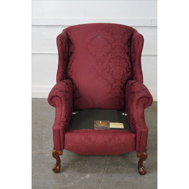 Hancock & Moore Chippendale Wing Chairs - Pair - Image 2 of 10