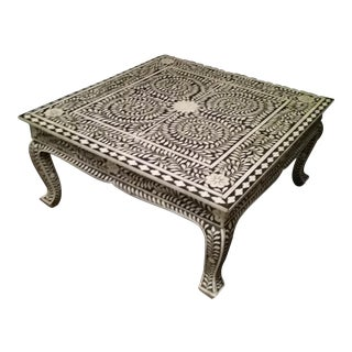 Inlaid Coffee Table