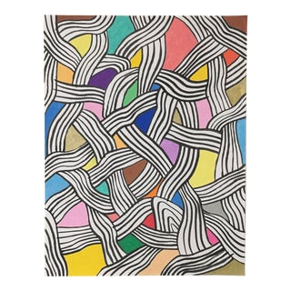 2010s Abstract Drawing, Node II For Sale