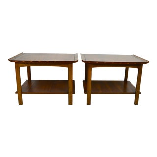 1960s Mid-Century Modern Lane End Tables - a Pair For Sale