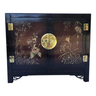 "Asian Lacquer Buffet/Bar/Server ""White Furniture"" For Sale"