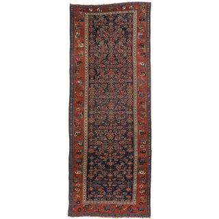 19th Century Persian Bijar Hallway Runner For Sale
