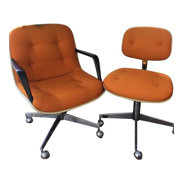 Vintage Steelcase Office Chairs - A Pair For Sale