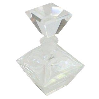 Large Crystal Perfume Bottle For Sale
