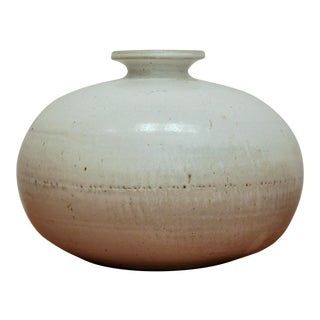 Oversize Wabi Sabi Pottery Vase
