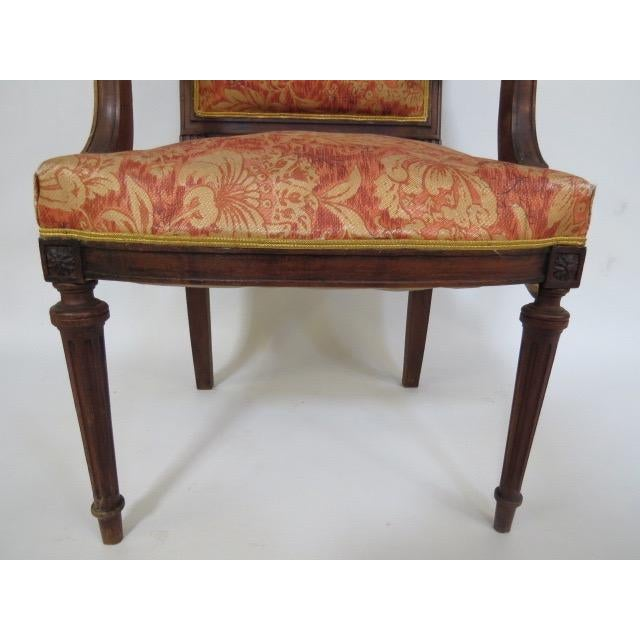 1900's Louis XVI Chair For Sale - Image 5 of 8