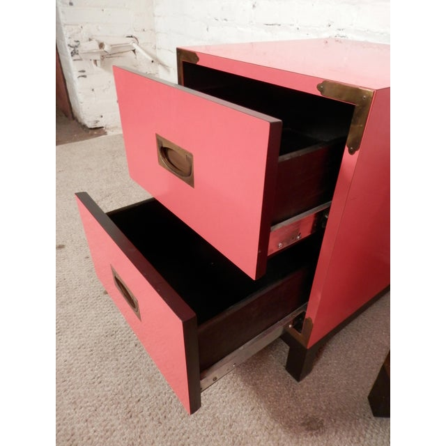 Campaign Style Chests For Sale - Image 4 of 8