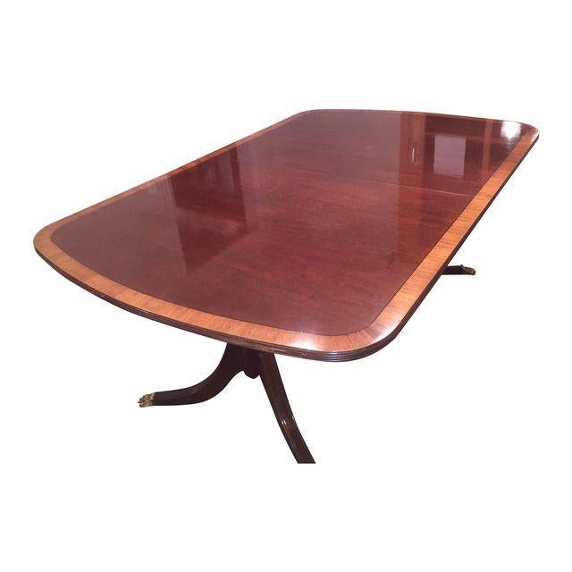 Ethan Allen 18th Century Mahogany Table - Image 1 of 3