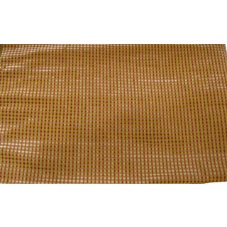 Schumacher Trianon Velvet Check Fabric For Sale
