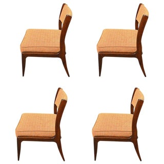 1950s Vintage Harvey Probber Side Chairs - Set of 4 For Sale