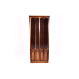 Kent Coffey Perspecta Style Brutalist Shelving Wall Unit Room Divider China Cabinet Preview