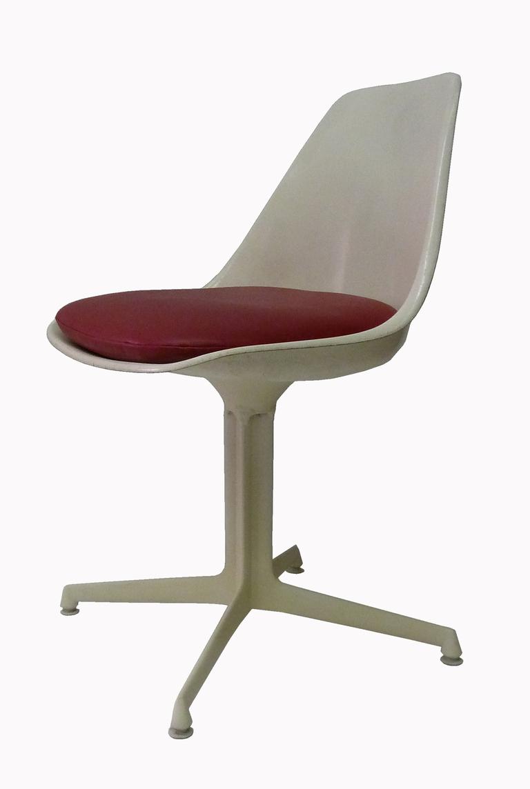 Burke Chairs Style Of E. Saarinen   Set Of 6   Image 3 Of 5