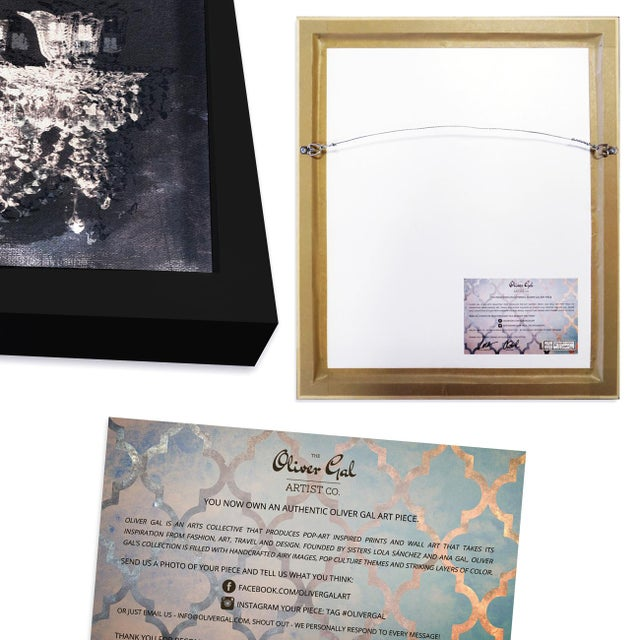 Contemporary Oliver Gal 'Delicate Perfume and Books' Framed Art For Sale - Image 3 of 7
