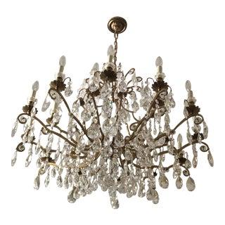 Schonbek Renaissance 19-Light Chandelier For Sale