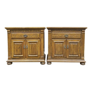 Ethan Allen Royal Charter Collection Nightstands - a Pair For Sale