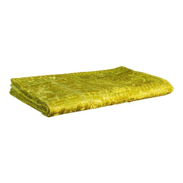 Green Sheesha Coverlet For Sale