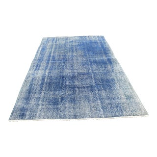 Antique Overdyed Turkish Anatolian Area Rug - 5′7″ × 8′7″