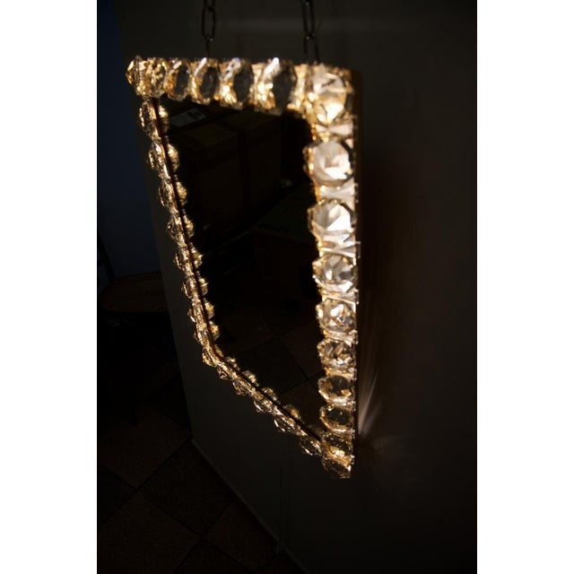 Bakalowits & Sohne Vintage crystal mirror by Bakalowits & Sohne For Sale - Image 4 of 11