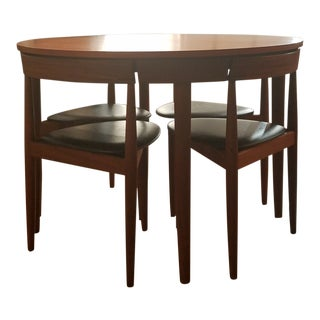 Original 1952 Mid-Century Modern Danish Hans Olsen Dining Set - 5 Pieces For Sale
