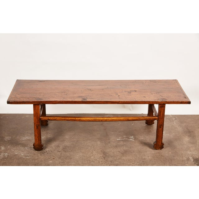 Late 18th Century Early 19th Century Chinese Elm Table For Sale - Image 5 of 9