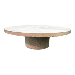 Indoor / Outdoor Concrete Coffee Table For Sale