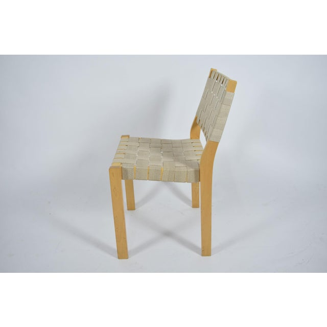 Tan Alvar Aalto 615 Chairs - Set of 8 For Sale - Image 8 of 8