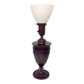 Early Grecian Urn Lamp by Moe Bridges For Sale