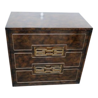 Mid-Century Modern Mastercraft Chest of Drawers For Sale