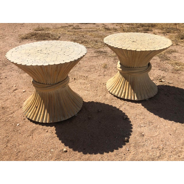 1980s Moorish Cane Side Tables - a Pair For Sale In Palm Springs - Image 6 of 9