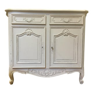 Early 20th Century Louis XV-Style Painted Sideboard For Sale