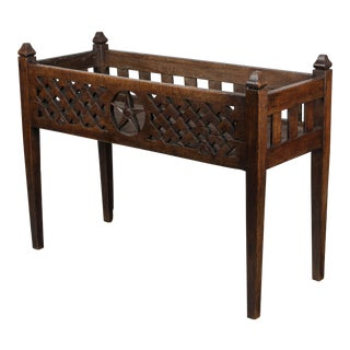 19th Century French Baby Crib or Planter For Sale