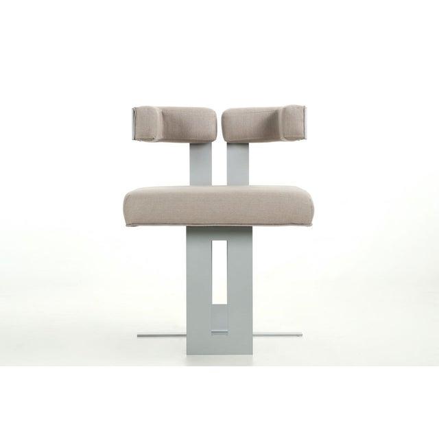Modern Lounge Upholstered OttomanChairish Chairamp; Steel 8nOXwPk0