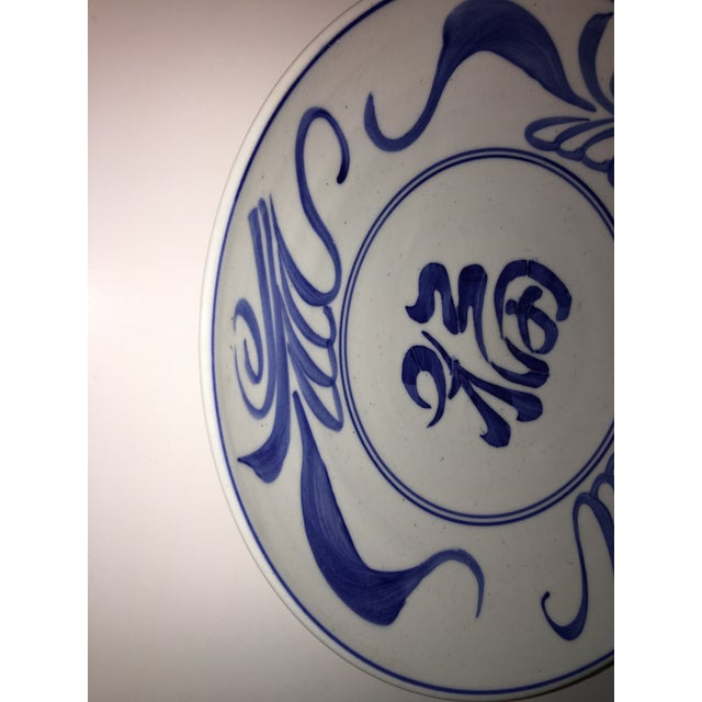 1970s 1970s Blue & White Chinese Bowl Decor For Sale - Image 5 of 7