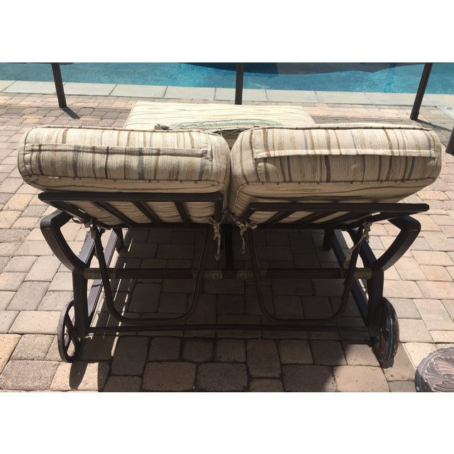 Outdoor Double Chaise - Image 5 of 9
