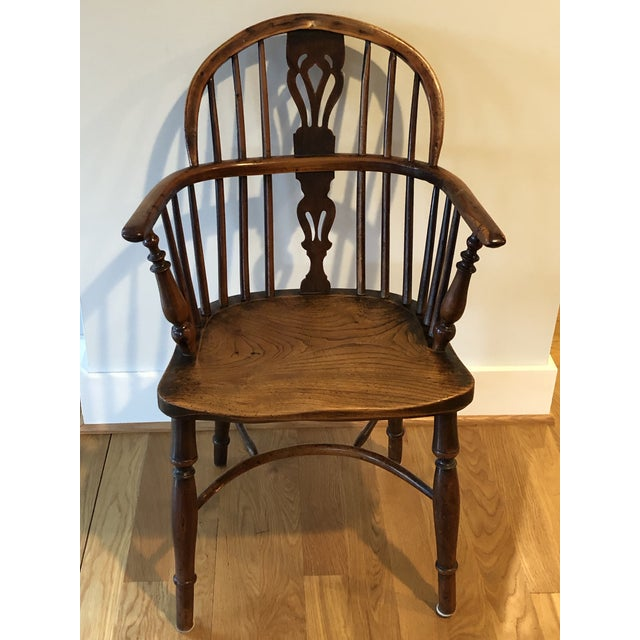 Mid 19th Century Wheatland Rockley Windsor Chair For Sale - Image 12 of 13