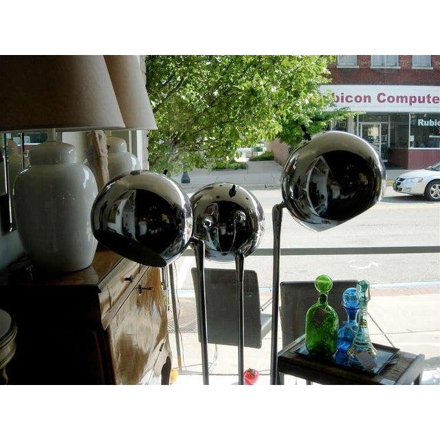 Mid-Century Modern Very Chic Mid-Century Three Light Floor Lamp For Sale - Image 3 of 4