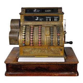 Antique Decorative Cash Register For Sale