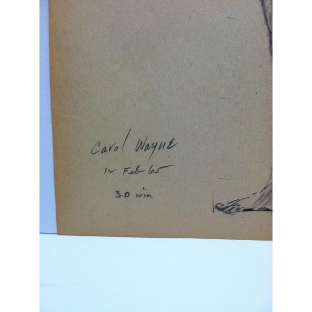 1964 Vintage Lorraine Tom Sturges Jr. Drawing | Chairish