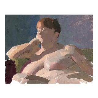 """Rachel"" Original Impressionistic Oil Painting For Sale"