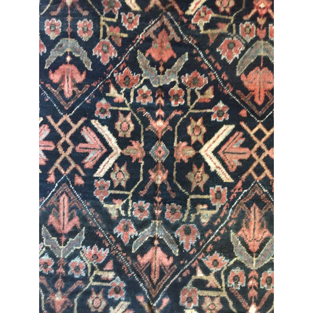 Art Deco Antique Persian Malayer Rug - 4′4″ × 6′6″ For Sale - Image 3 of 4