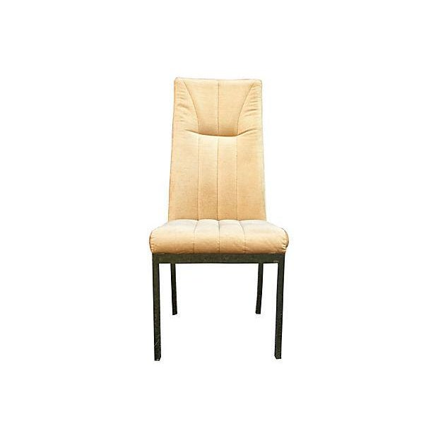 Mid-Century Modern Milo Baughman Style Highback Chromcraft Dining Chairs - Set of 4 For Sale - Image 3 of 10