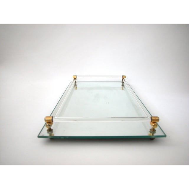 Glass Mirrored Vanity Tray - Image 4 of 9